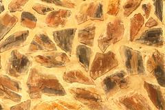 texture of masonry pattern rock cement wall. - stock photo