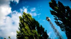 Berliner Funkturm Stock Footage