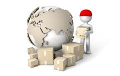 Stock Illustration of world deliver