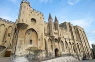Stock Photo of avignon, palais des papes