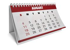 Stock Illustration of august