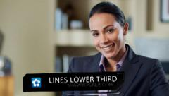 Lines Lower Third ( All colors) Stock After Effects