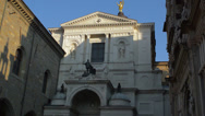 Stock Video Footage of Bergamo Cathedral