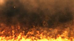 Raging Flames loop Stock Footage