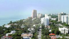 Ft. Lauderdale Aerial View Stock Footage