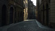 Stock Video Footage of Bergamo Citta Alta street