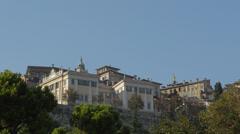 Bergamo Citta Alta Palace Stock Footage
