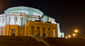 Minsk Opera theatre. Time lapse shot in motion Footage
