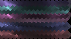 Rainbow Metal colors transition - Alpha channel - 1080p Stock Footage