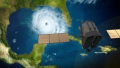 4K UltraHD Weather Satellite 3659 Stock Footage