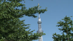 Tokyo Sky Tree Stock Footage