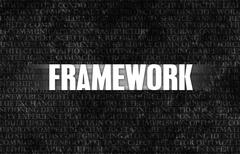 framework - stock illustration