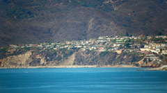 Santa Monica and Pacific Palisades, California Stock Footage