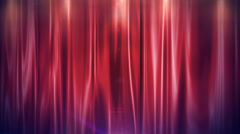 Stock Video Footage of Curtain Open FullHD