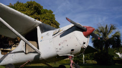 Wreck plane 5 Stock Footage
