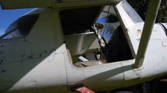 Wreck plane 4 Stock Footage