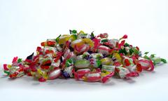pile of candy - stock photo