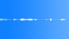 490 - old door bells various interior int bg distant indistinct voices differ Sound Effect
