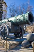 The biggest ancient cannon Stock Photos