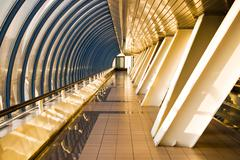 Business bridge - stock photo