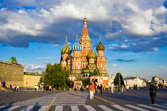 Saint Basil's Cathedral - stock photo