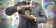time is money - stock illustration