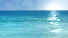 Paradise sea HD -  loop Stock Footage