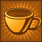 Coffee Cup - stock illustration