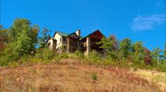 Smokey Mountain Mansion Stock Footage