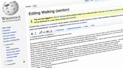 Wikipedia editing Stock Footage