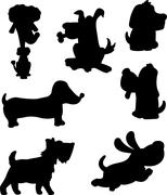 Stock Illustration of Dog Silhouette