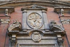 Famous historic building in Valencia, Spain Stock Photos