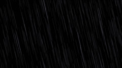 Rain Compositing Element Stock Footage