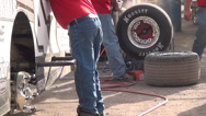 Stock Video Footage of Pit Crew, Pit Area, Pit Stop, Motorsports, 2D, 3D