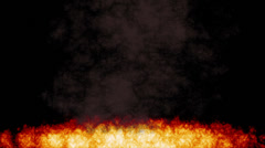 Fire Compositing Element Stock Footage