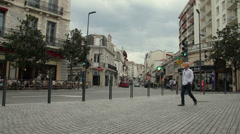 Small French Town Timelapse  Stock Footage