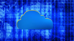 Data Cloud Background - stock footage