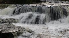 Bond Falls Cascade Loop Stock Footage