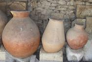 Stock Photo of ancient greek amphoras