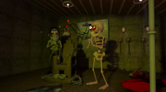 Halloween Dungeon (Version 2 of 2) without text Stock Footage