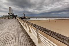 The Hague Beach Port - stock photo
