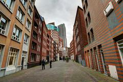 The Hague Street - stock photo