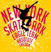 Street sports skateboarding vector art Stock Illustration