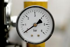 Manometer - stock photo