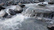 Stock Video Footage of Close up of a mountain stream from the himalayas.