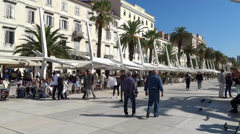 Port of Split Stock Footage