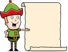 Stock Illustration of Elf List