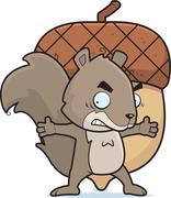 Squirrel Nut Stock Illustration