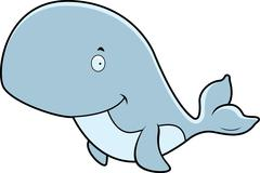 Whale Smiling Stock Illustration