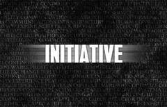 initiative - stock illustration